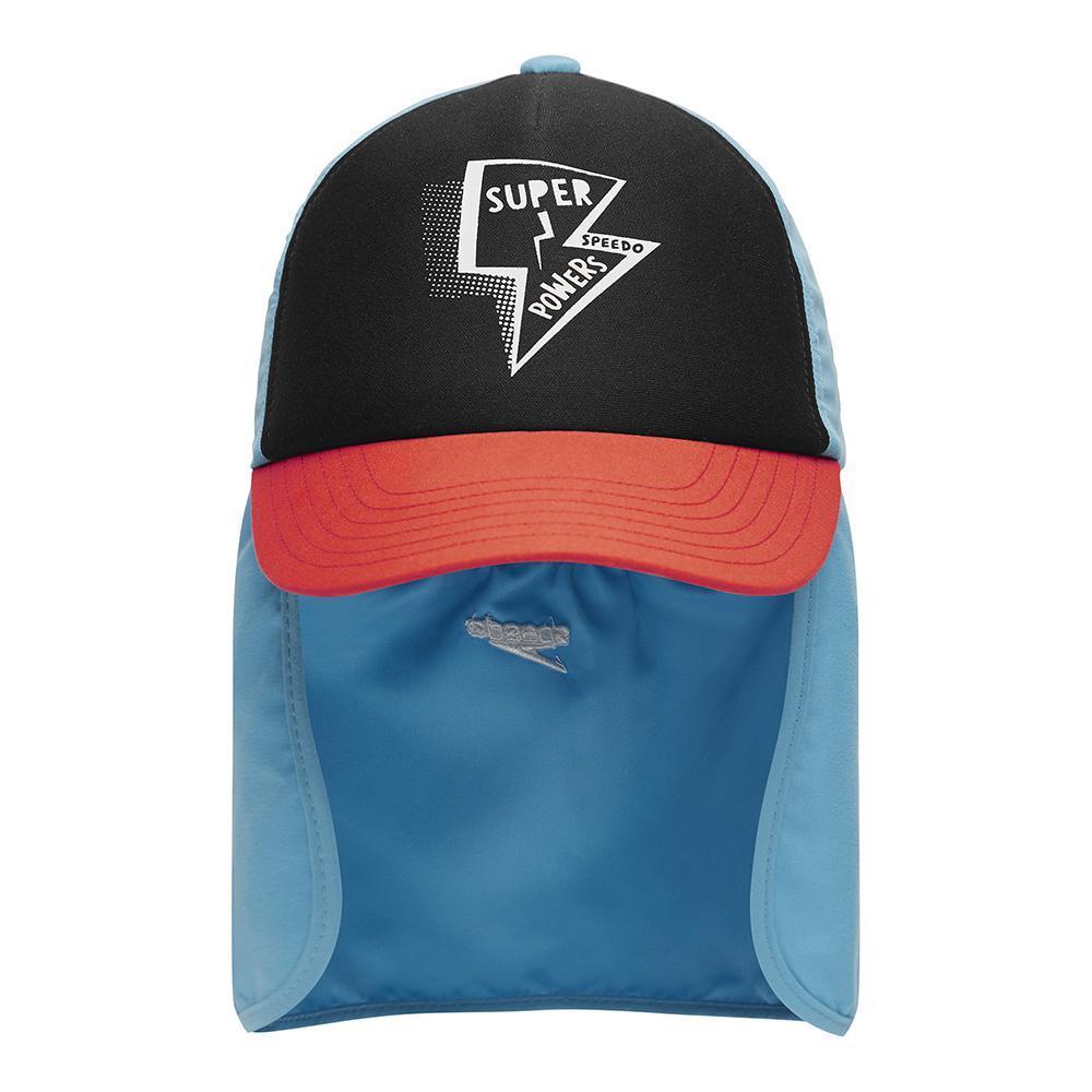 2021 Youth Trucker Cap Super Power - Blue