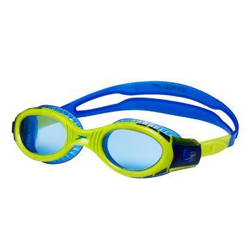 Speedo Junior Futura Biofuse Flexi Goggle - Surf/Lime
