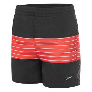 Speedo Boy's Dissect Watershorts - Carbon/Orange