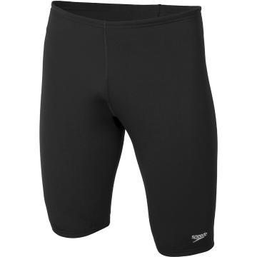 Speedo Men's Basic Jammer Swim Shorts - Black