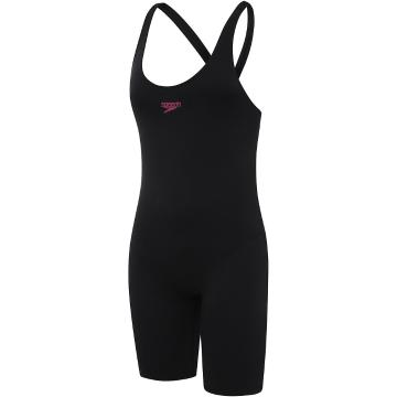 Speedo 2021 Youth End+ Leaderback Legsuit - Black - Black