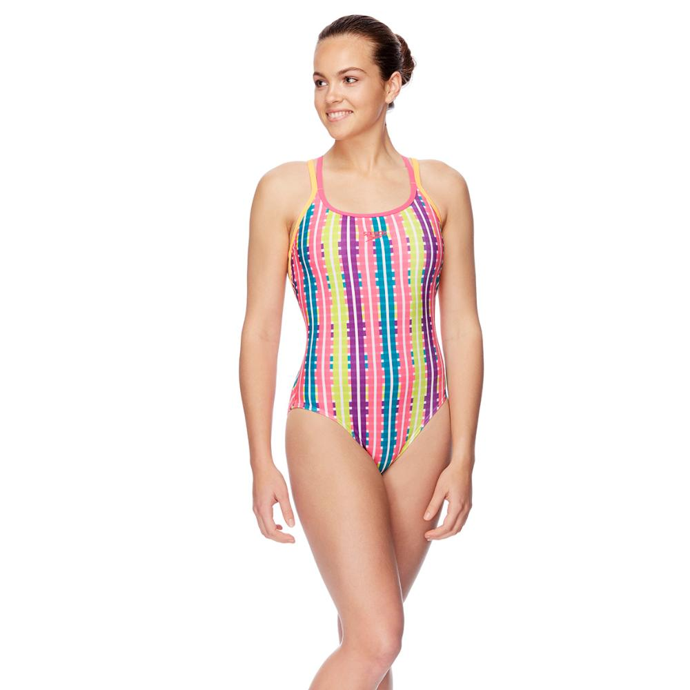 Womens Elevate Strap Back One Piece