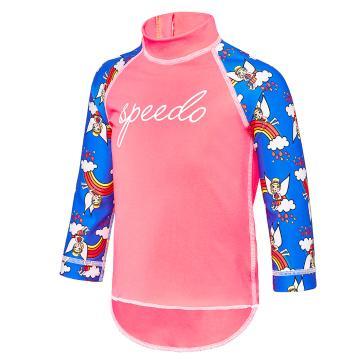 Speedo Toddler Girls Day Fairy Logo LS - DayFairy/Corallo