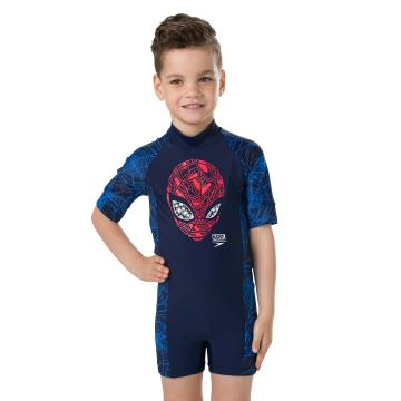 Speedo Toddler Boy Spiderman All In One