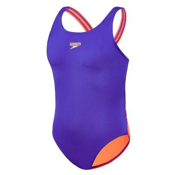 Speedo Girls Endurance Leaderback One Piece