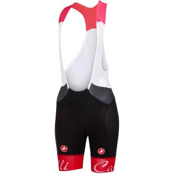 Castelli 18 Men's Free Aero Race Bibshorts - Red