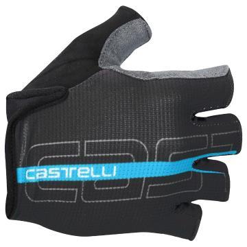 Castelli 2018 Tempo Glove - Black/Sky Blue