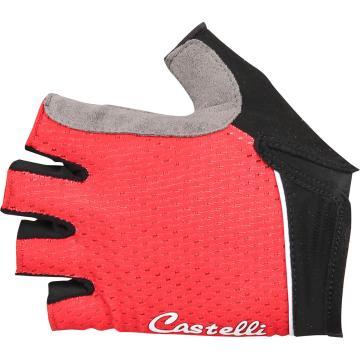 Castelli 2018 Roubaix Gel Women's Short Finger Gloves - Red