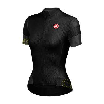 Castelli Women's Fortuna Cycle Jersey - Black