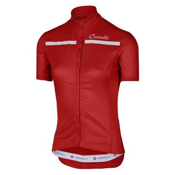 Castelli Castelli Imprevisto Women's Jersey - Red/White