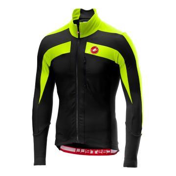 Castelli Trasparente 4 Jersey - Light Black/Yellow