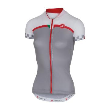 Castelli Duello Cycle Jersey - Grey