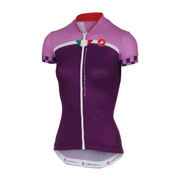Castelli Duello Cycle Jersey - Violet
