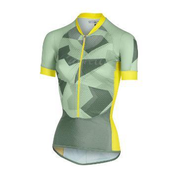 Castelli Climbers Women's Jersey - Pastel Mint/Forest Grey