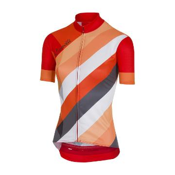 Castelli 2018 Prisma Women's Multi Jersey - Red