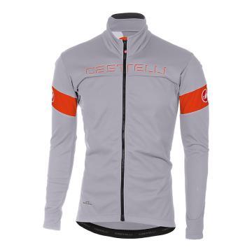 Castelli 2018 Transition Jacket - Luna Gray/Orange