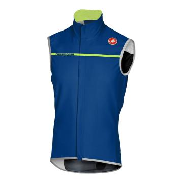 Castelli Perfetto Wind/Rain Vest - Ceramic Blue