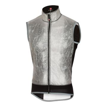 Castelli Vela Wind/Rain Vest - Light Gray