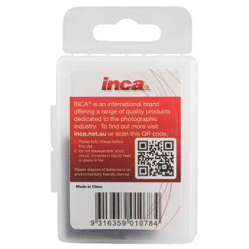 INCA 1160mAh Battery for GoPro Hero4