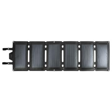 Ener Plex Commandr Solar Charger - 20 Watts - Black