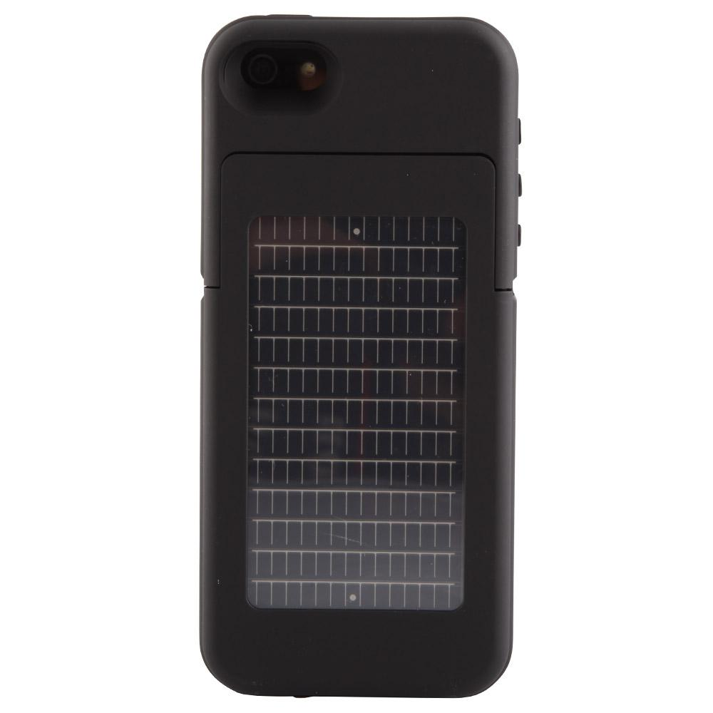 Surfr Solar Battery Case for IPhone 5/5S  - Black
