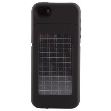 Ener Plex Surfr Solar Battery Case for IPhone 5/5S  - Black