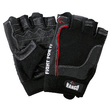 Gladiator Weight Lifting Gloves- Black Large