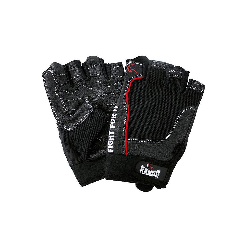 Weight Lifting Gloves- Black Large