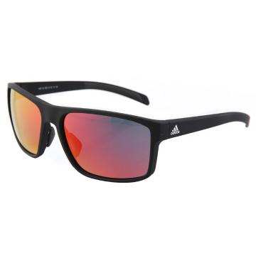 Adidas Whipstart Sunglasses - Matte Black/Grey Red Mirror Lens - Matte Black/Red Mirror