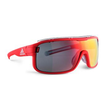 Adidas Zonyk Pro Large Sunglasses - Solar Red/Red Mirror
