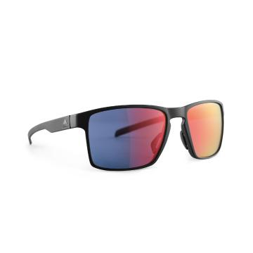 Adidas Wayfinder Sunglass - Matt Black/Red Mirror