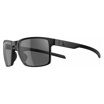 Adidas Wayfinder Sunglasses - Non Mirror - Matt Black/Grey