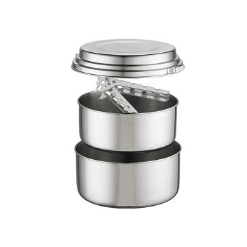 MSR Alpine 2 Person Stainless Steel Pot Set