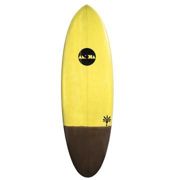 "Aloha Hamster XF Tint FCSII Yellow Surfboard 5'6"""