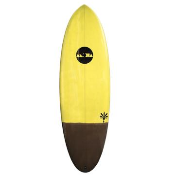 Aloha Hamster XF Tint FCSII Yellow 5ft 6in Surfboard