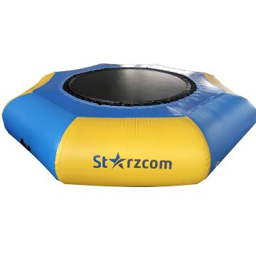 Starzcom Inflatable Water Trampoline - Yellow/Blue