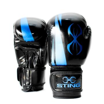 Sting ArmaPro Boxing Gloves - Black/Blue