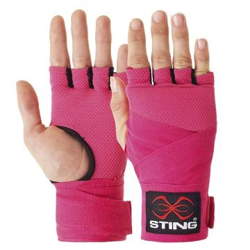 Sting Elasticated Quick Wraps - Pink