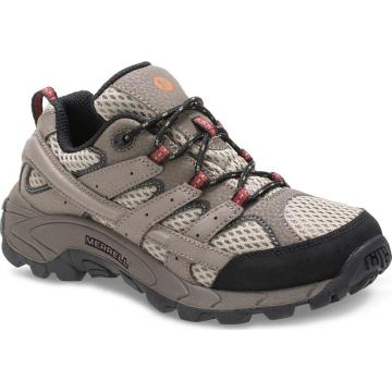 Merrell Kids Moab 2 Low Lace Shoes - Bark Brown