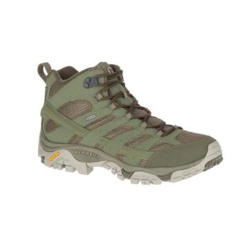 Merrell Moab 2 Mid GTX Wide Boots - Olive