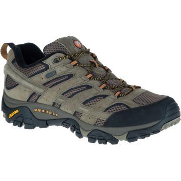 Merrell Men's Moab 2 Waterproof Shoes - Walnut