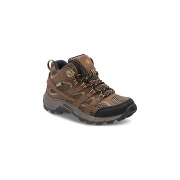 Merrell Youth Moab 2 Mid A/C Waterproof - Earth