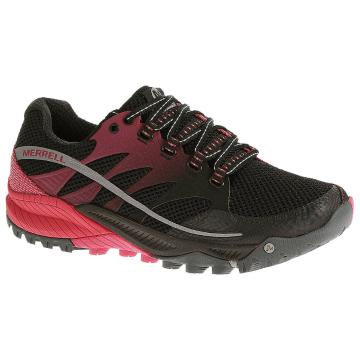 Merrell Women's All Out Charge Shoes  - Black/Geranium