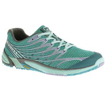 Merrell Women's Bare Access 4 Running Shoes - Algiers Blue/Pilot