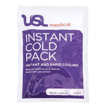 USL Cold Instant Ice Pack Disposable Single