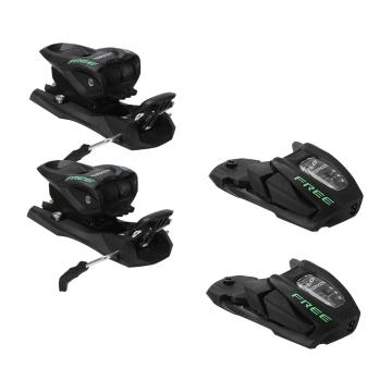Marker Free 7.0 Junior Ski Bindings - Black