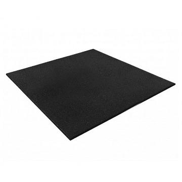 VersaFit Home Rubber Gym Floor Tile 1x1m Black