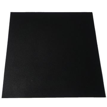 VersaFit Economy Rubber Gym Tile - 1m x 1m x 8mm (Black)