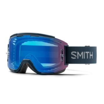 Smith ChromaPop Squad MTB Goggles - Iron/CPContrastRoseFlash