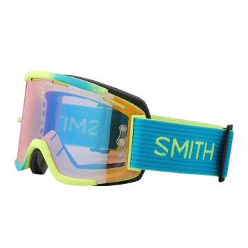Smith 2018 Squad MTB ChromaPop Goggles - Acid Split/CPContrastRose
